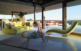 sleek and modern indoor outdoor escapade sofa by roche bobois