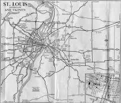 St Louis Mo Map St Louis Maps Page