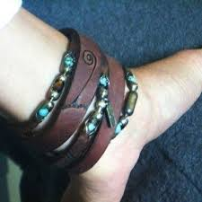 ankle cuff bracelet images Best leather ankle bracelets products on wanelo jpg