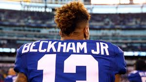 odell beckham jr haircut name comparing odell beckham jr to all time greats gotham sports network