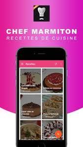 marmitons recettes cuisine chef marmiton recettes cuisine apk free food drink app