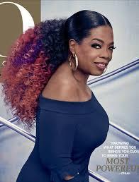 oprah winfrey new hairstyle how to oprah winfrey rocks pink and purple hair on o the oprah magazine