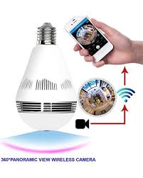 light bulb security system don t miss this deal 1080p 360 degree ip home camera bulb e26 vr
