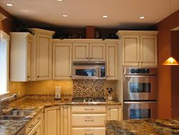 crown molding for kitchen cabinet tops are the cabinets refurbished with just crown molding on top and