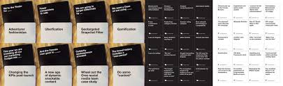 cards against humanity stores marketing cards against humanity strategy vs tactics wishful