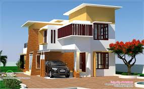 4 bedroom modern villa design style house 3d models