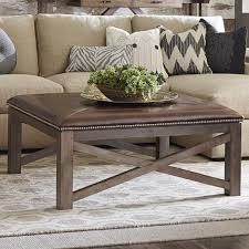 coffee tables dazzling brown square ottoman coffee table med art