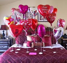 bedroom valentines day decoration for romantic bedroom