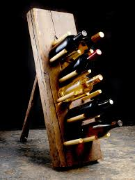 diy furniture projects 5 rustic industrial pieces wine rack