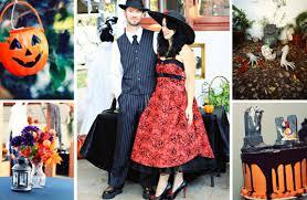 The Night Before Halloween Poem The Spookiest Halloween Weddings We U0027ve Ever Seen Bridalguide