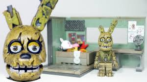 Lego Office Fnaf Springtrap With Security Office Mcfarlane Toys Lego