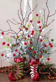 Christmas Centerpiece Craft Ideas - home design delightful handmade christmas centerpieces