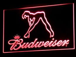 cheap light up beer signs budweiser light up beer sign signs for man cave light signs cave
