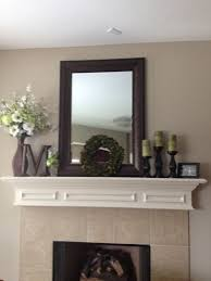 Fireplace Decorations Ideas Best 25 Mantle Mirror Ideas On Pinterest Fireplace Mirror