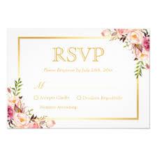 Response Cards Wedding Response Cards U0026 Invitations Zazzle Co Uk