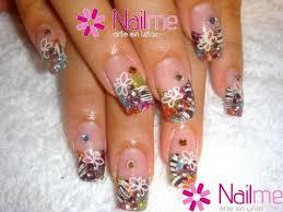 imagenes de uñas acrilicas con pedreria uñas acrilicas diseños con piedras nails acrylic pinterest