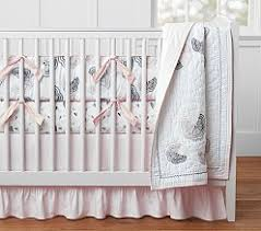 Moon And Stars Crib Bedding Organic Baby U0026 Nursery Bedding Pottery Barn Kids