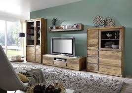 Wohnzimmer Massivholz Wohnwand Massivholz Charismatische Auf Wohnzimmer Ideen In
