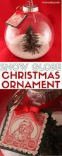 christmas tree snow globe ornament tutorial video