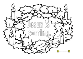 coloring pages advent calendar at wreath page eson me