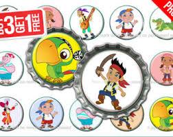 48 jake u0026 neverland pirates edible wafer rice paper mini
