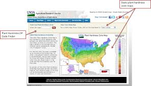 United States Time Zone Map by How To Use This Website Usda Plant Hardiness Zone Map