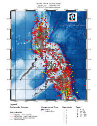 Map Of Phillipines Seismicity Maps