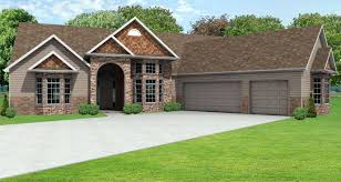 awesome ranch house plans with 3 car garage house design and