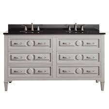 Double Sink Vanity Top 61 Home Decorators Collection Manor Grove 61 In Double Vanity In