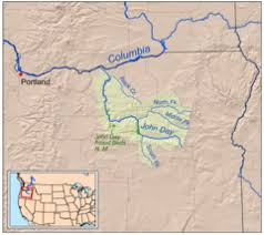 map of oregon gold mines lost blue mine