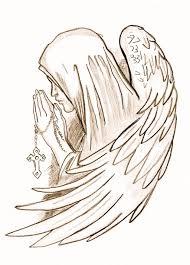 praying hands tattoo for girls 25 impressive praying angel tattoo designs and ideas golfian com