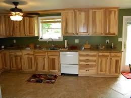 Rustic Hickory Kitchen Cabinets by Hickory Kitchen Cabinets And Flooring U2014 Wonderful Kitchen Ideas