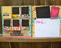 personalized scrapbooks custom scrapbook etsy