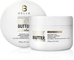 milky way hair belle belle intense hydration body cream with shea butter moisturize