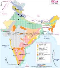 soil map map of india