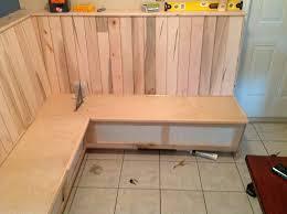 Diy Kitchen Nook Bench Home Design Mesmerizing Kitchen Corner Bench Plans Storage Diy