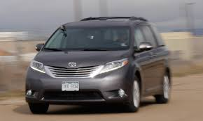 lexus van 2015 2015 toyota sienna ltd awd swagger wagon review the fast
