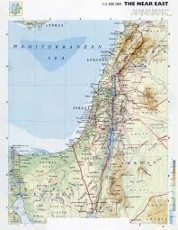 Latitude Map Of The World by Maps Of Israel Detailed Map Of Israel In English Tourist Map