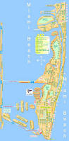 Map Of Beaches In Florida by Miami Beach Map Map Of Miami Beach Florida Usa