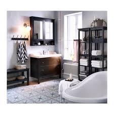 Bathroom Storage Mirrored Cabinet by Bathroom Storage Hemnes Mirror Cabinet With 2 Doors 2 Sided