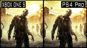 dying light ps4 game dying light ps4 pro vs xbox one s graphics comparison youtube