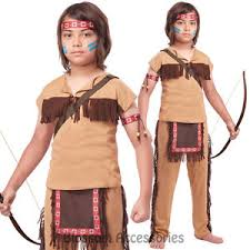 Indian Halloween Costume Ck297 Child Native American Brave Warrior Indian Halloween Boy