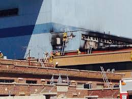 A Place Csfd Colorado Springs Department Battling Blaze At Martin