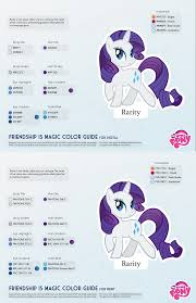 rarity color guide 2 0 updated by kefkafloyd on deviantart