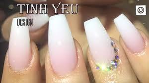 alex nail art desgn nail technician tinh yeu how to make ombre