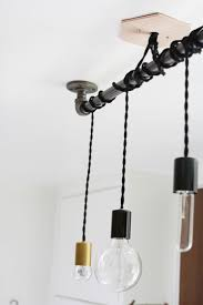 Track Lighting Pendants by 25 Best Pipe Lighting Ideas On Pinterest Industrial Wall Art