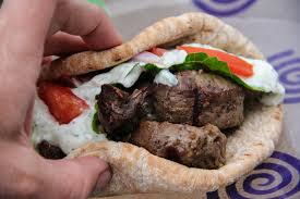 diary of a recipe addict spicy beef gyros with tzatziki sauce