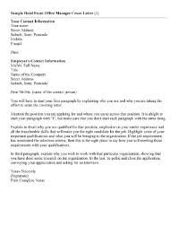 the top 5 best blogs on cover letter for front office position