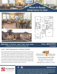 Belmonte Builders Floor Plans Hartley Grove Sold Out New Homes In Hanford San Joaquin