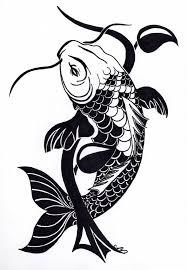 tribal fish designs best design with tribal koi fish